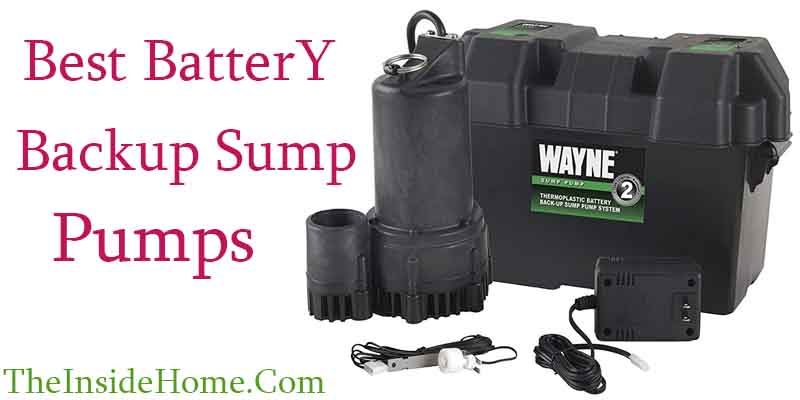 best battery backup sump pumps